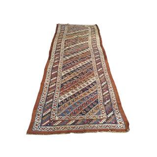 """Antique Persian Bidjar Runner Rug - 161"""" X 42"""""""