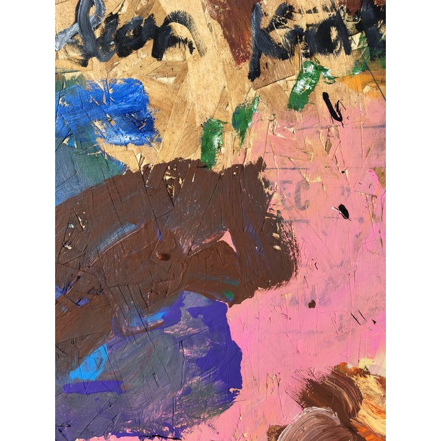 Sean Kratzert 'Sky Rockets' Abstract Oil Painting by Sean Kratzert For Sale - Image 4 of 6