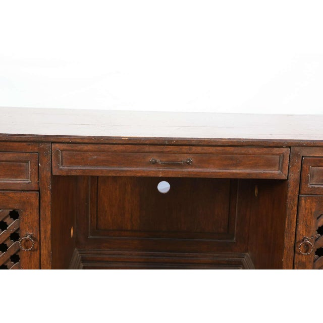 Islamic Mid Century Moroccan Handcrafted Decorative Desk For Sale - Image 3 of 10