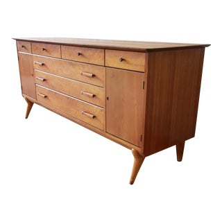 Renzo Rutili for Johnson Furniture Co. Mid-Century Modern Sideboard Credenza For Sale