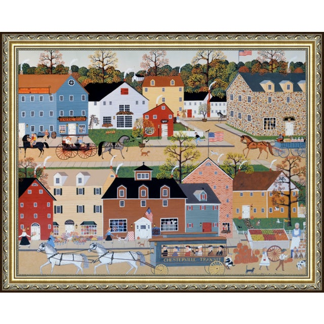 """""""Chesterville"""" by Sandi Wickersham Resnick For Sale"""