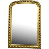 Image of 19th Century Louis Philippe Gilt and Ebonized Wall Mirror For Sale