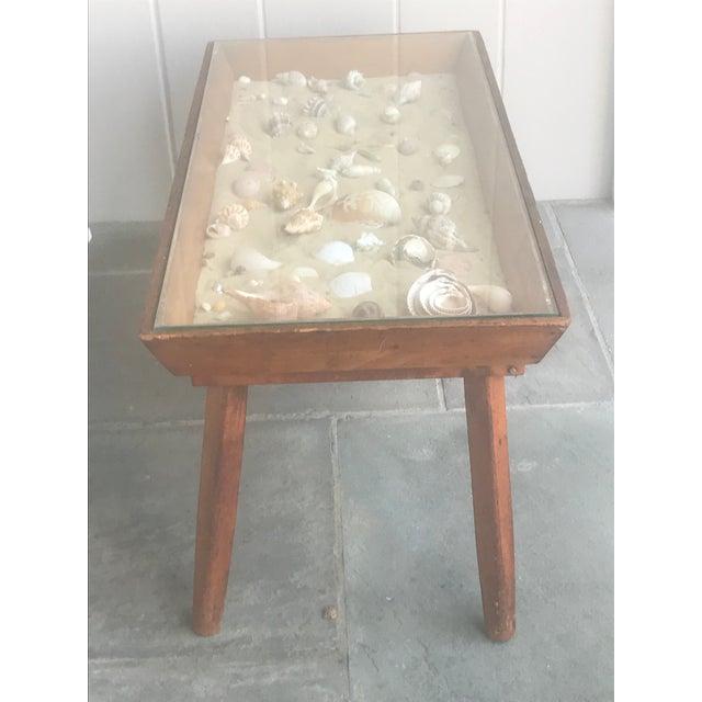 Tan 20th Century Americana Beachcomber Pine Coffee Table For Sale - Image 8 of 13