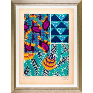 """Framed E. A. Seguy Print, """"Suggestions"""" Plate No. 11 For Sale"""