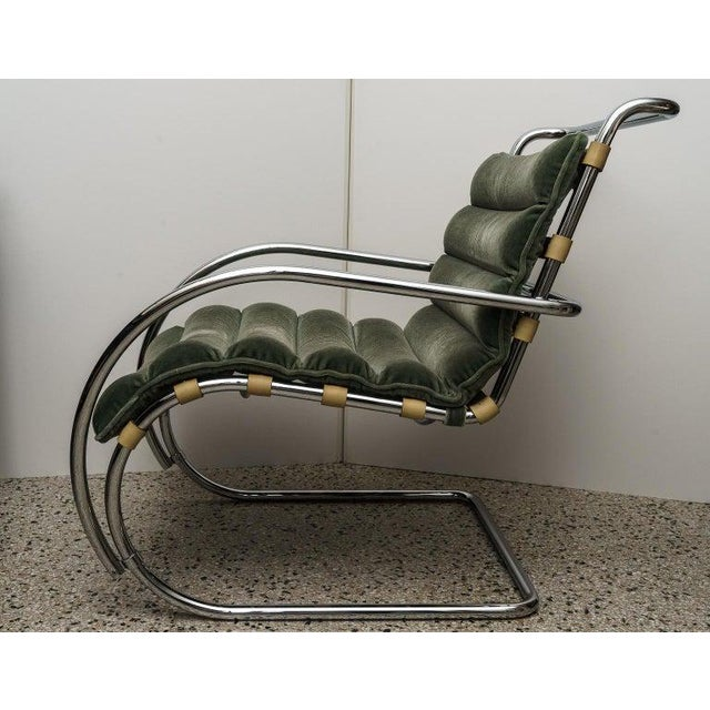 1970s Mies Van Der Rohe 1927 Design Style Lounge Chair - 5 Are Available For Sale - Image 5 of 13