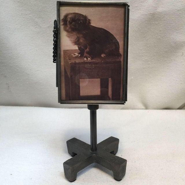 Vintage Metal Standing Picture Frames - Set of 4 - Image 5 of 8