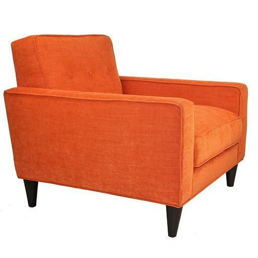Mid-Century Modern Bowie Club Chair - Image 2 of 4