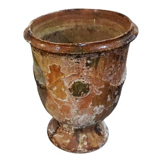 Large 19th Century Anduze Pot For Sale