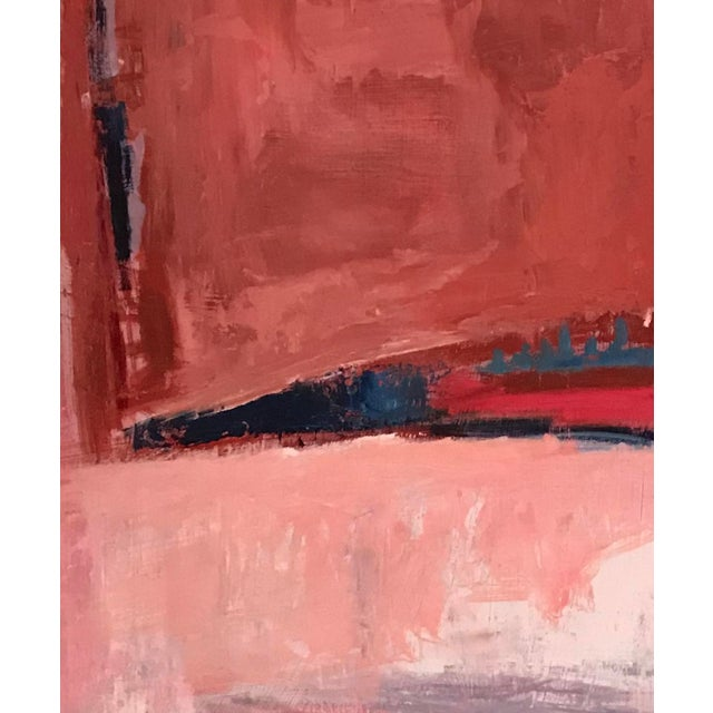 Contemporary Abstract Oil Painting For Sale - Image 4 of 4