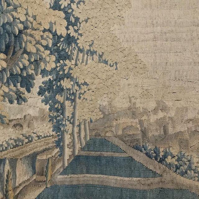 17th Century Grand 17th Century Oudenaarde Tapestry For Sale - Image 5 of 13