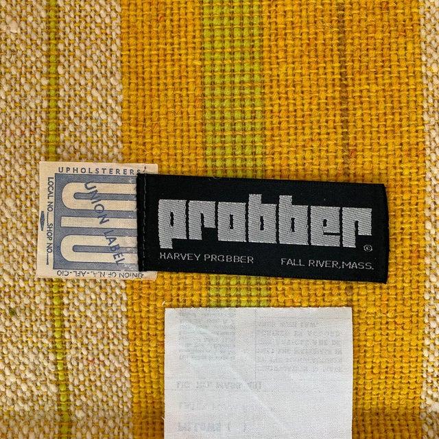 Harvey Probber Tuxedo Sofa With Oak Legs For Sale - Image 12 of 13