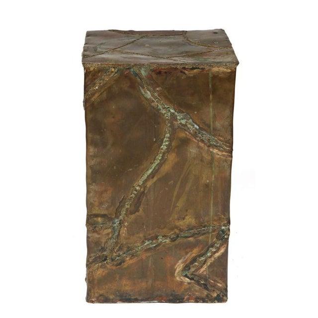 Brutalist Silas Seandel Brutalist Patchwork Column Pedestal For Sale - Image 3 of 8
