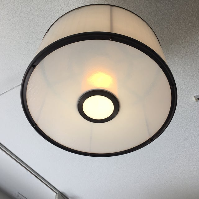 Modern Michael McEwen B Ring Ceiling Fixture For Sale - Image 3 of 10