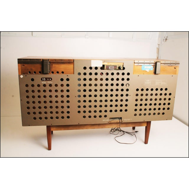 Drexel Mid-Century Modern Record Console Credenza For Sale - Image 6 of 11