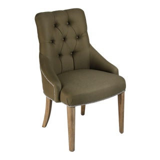 Lucerne Chair in Green For Sale