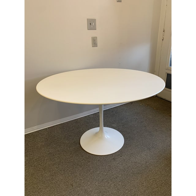 1950s Mid-Century Modern Saarinen Tulip Dining Table for Knoll For Sale - Image 5 of 12