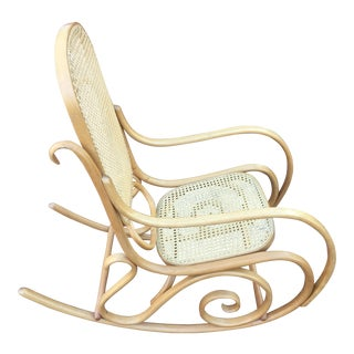 Original Thonet Bentwood Rocking Chair