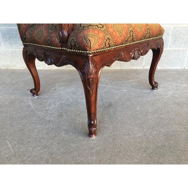 Vanguard Sultana French Provincial Wing Back Arm Chair For Sale In Philadelphia - Image 6 of 9