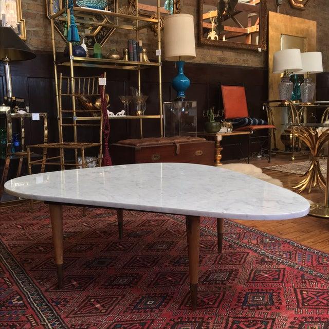 Mid Century Italian Marble Coffee Table - Image 3 of 7