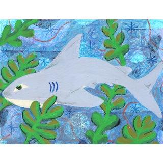 """Na, I Don't Swim on Shark Week"" Original Artwork by Danny Brown For Sale"