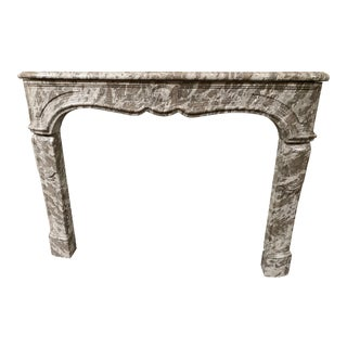 Antique French Marble Fireplace For Sale