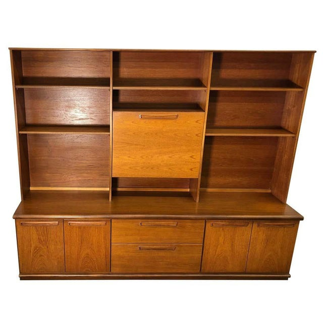 Midcentury Teak Wall Unit by Meredew For Sale - Image 13 of 13