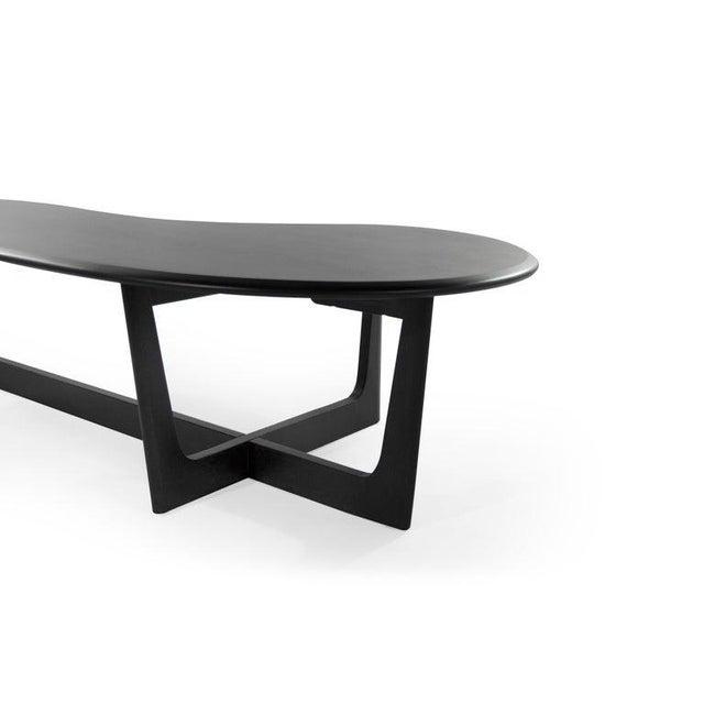 Wood Asymmetric Mid-Century Modern Walnut Coffee Table For Sale - Image 7 of 11