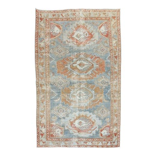 Antique Rustic Rug, 3'7'' X 5'7'' For Sale