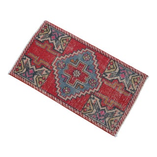 Distressed Low Pile Turkish Yastik Rug For Sale