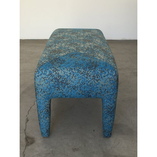 Textile Mid-Century Donghia Bench For Sale - Image 7 of 13