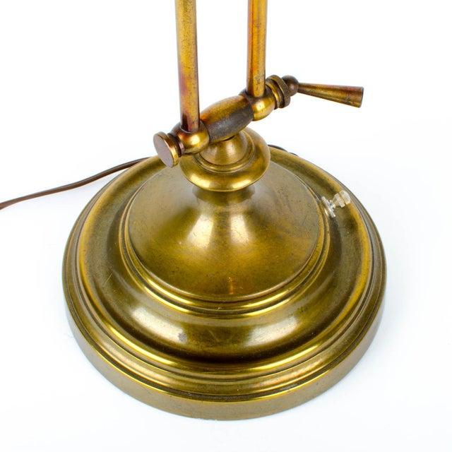 Ethan Allen Articulating Brass Lamp - Image 11 of 11