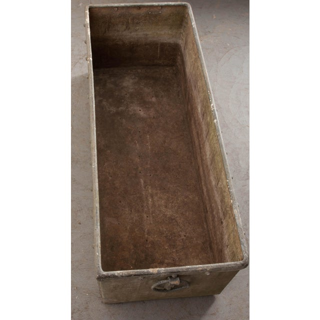 English 19th Century Zinc Trough For Sale - Image 9 of 11
