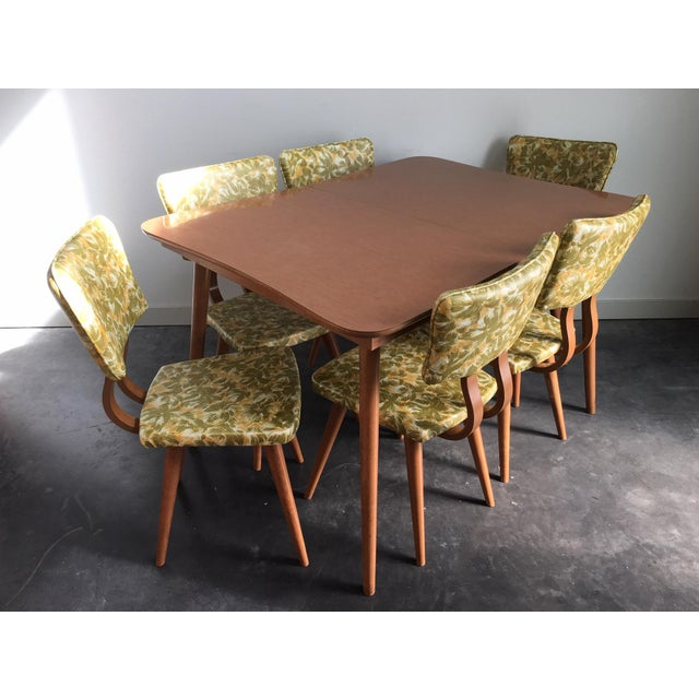 Vintage Mid Century Modern 7 Piece Dining Set For Sale - Image 11 of 11