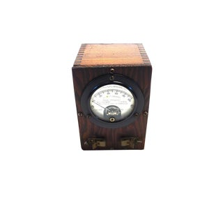 Vintage Weston Thermo-Galvanometer. Circa Early 20th Century. Display As Sculpture. For Sale