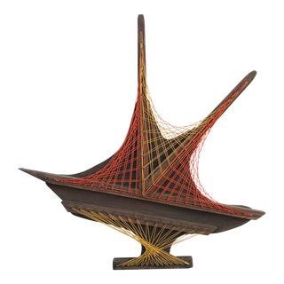 Vintage Geometric String Art For Sale