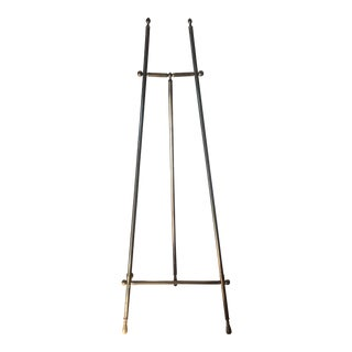 Large Brass Easel