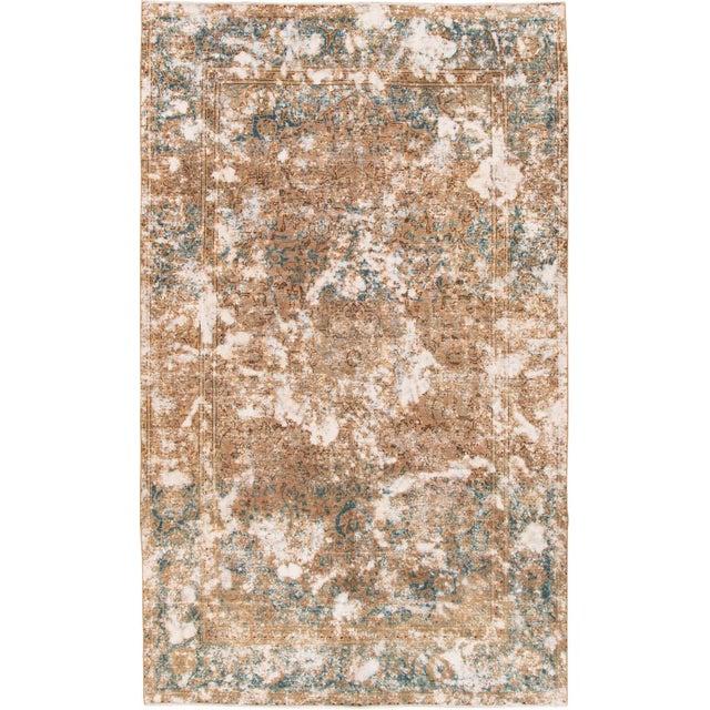Vintage Wool Tabriz Rug For Sale In New York - Image 6 of 6