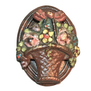 Flower Basket Door Knocker For Sale