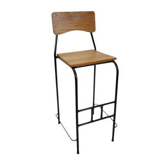 Toka Teak Bar Stool For Sale