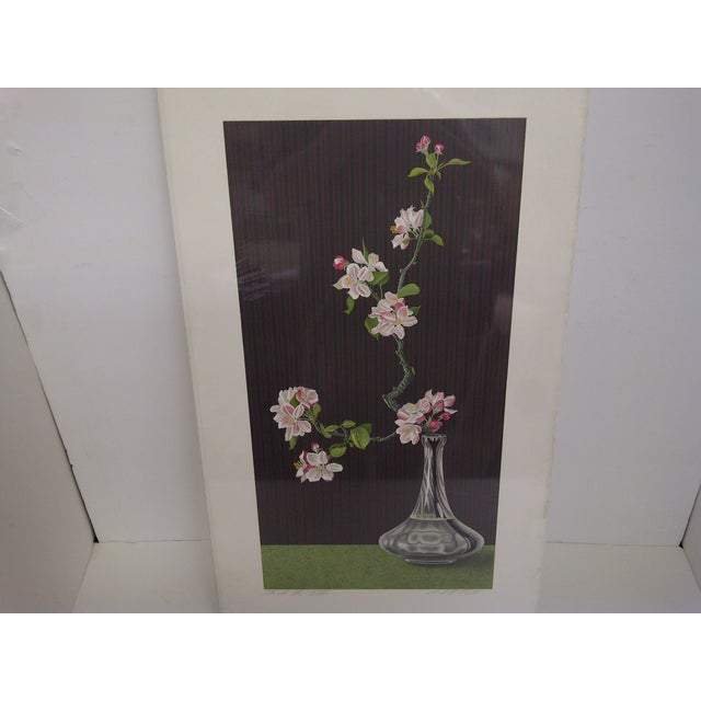 """Traditional """"Flowers"""" by Norman Carton For Sale - Image 3 of 8"""