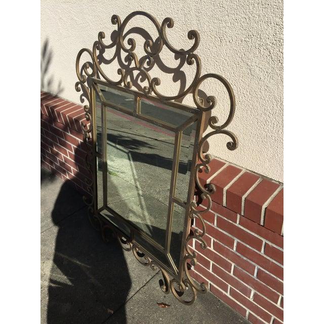 Kreiss Mirror Malaga Wrought Iron - Image 2 of 5