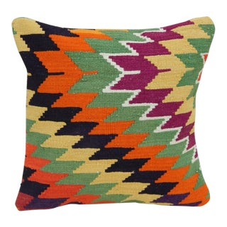 Turkish Handmade Kilim Pillow For Sale