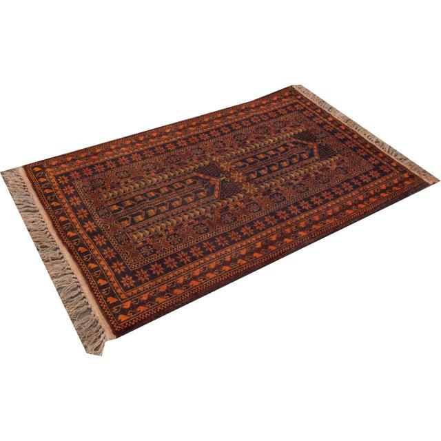 "Apadana - Vintage Persian Balouch Rug - 2'10"" x 4'10"" - Image 2 of 3"