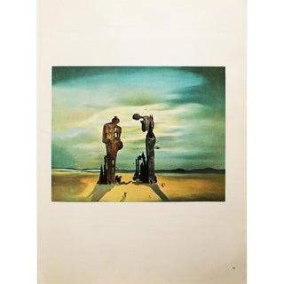 1957 Dali, the Atavisms of the Angelus of Millet, Original Period Parisian Photogravure For Sale