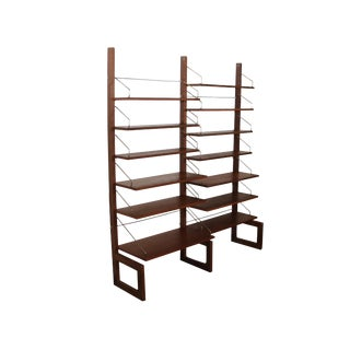 Mid Century Free Standing Cado Shelving System / Wall Unit by Cadovius
