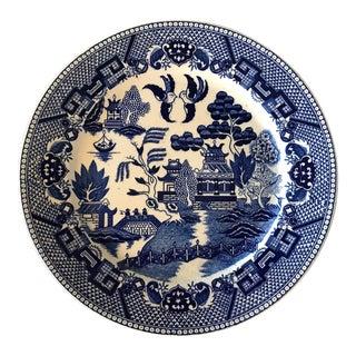 Blue Willow Transferware Plate