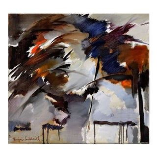 Storm Warnings Berkeley School Abstract Expressionist 1963 For Sale