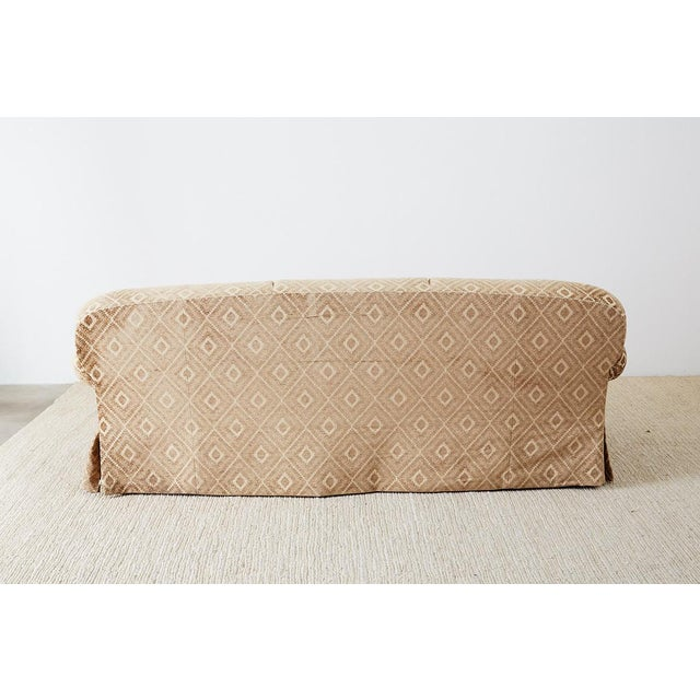 Jonas New York English Style Three-Seat Sofa For Sale - Image 12 of 13