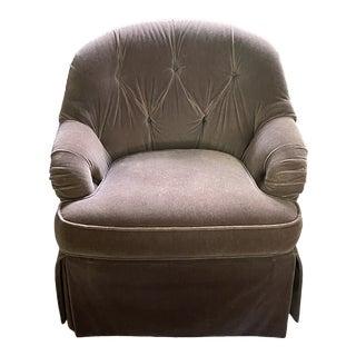 Harden Mohair Club Chair For Sale