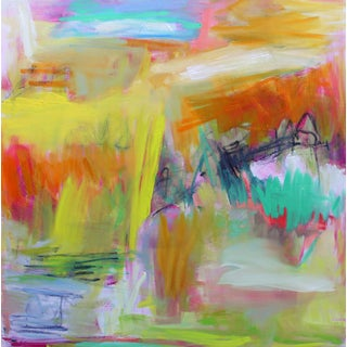 """""""Alice Springs"""" by Trixie Pitts Large Abstract Expressionist Oil Painting For Sale"""